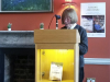 "Val Mulkerns reading ""Special Category"" the collections' first story"