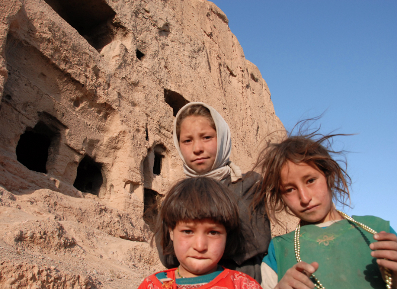 Cave Dwellers, Bamiyan - Pic Helena Mulkerns