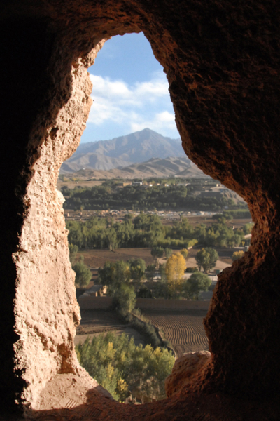 Bamiyan Window - Pic Helena Mulkerns