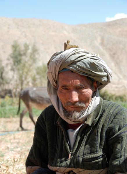 Hazara Farmer - Pic Helena Mulkerns