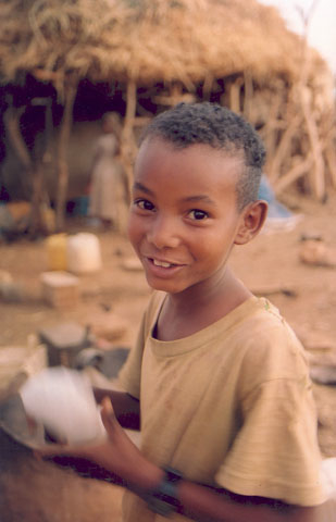 Smiling Boy, near Shilalo - Pic Helena Mulkerns