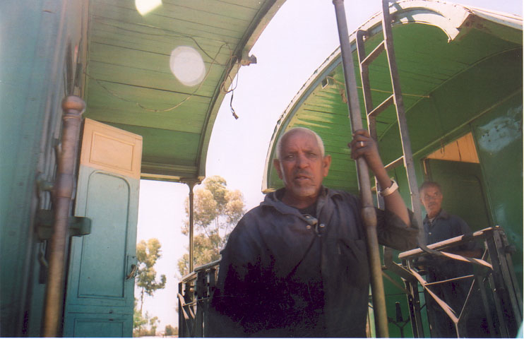 The wonderous Massawa-Asmara Steam Train - Pic Helena Mulkerns
