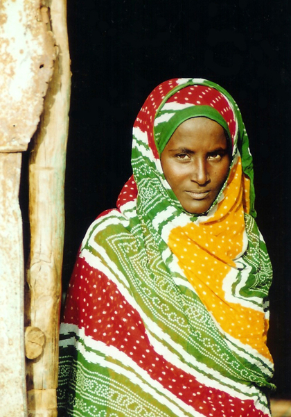 Afar Woman, near Assab - Pic Helena Mulkerns