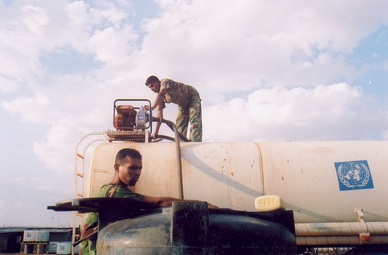 Delivering water