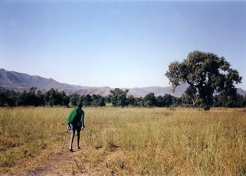 Boy Walking, Bahir Dar