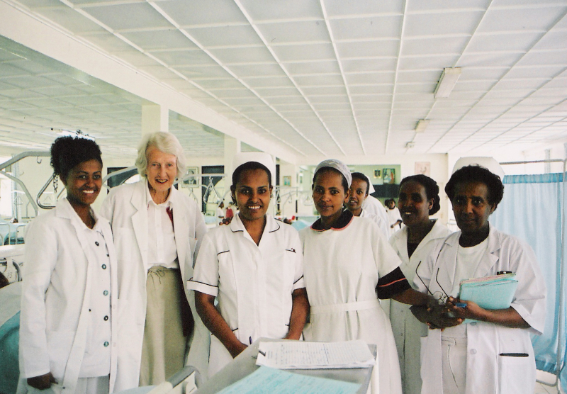 Dr. Catherine and the Nurses, Fistula Hospital