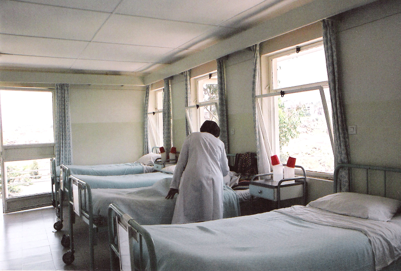 Scene at the Fistula Hospital in Addis